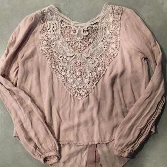 b8ce8d397dbf6 Chloe K Gorgeous Blouse Shirt Rose Medium